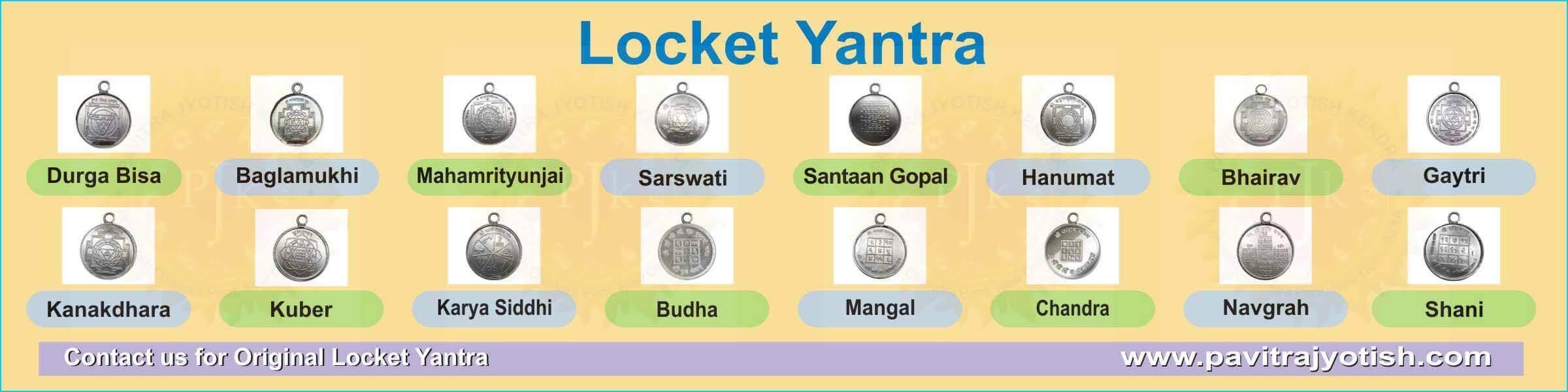 Locket Yantra