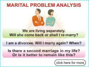 Marital Problem Analysis