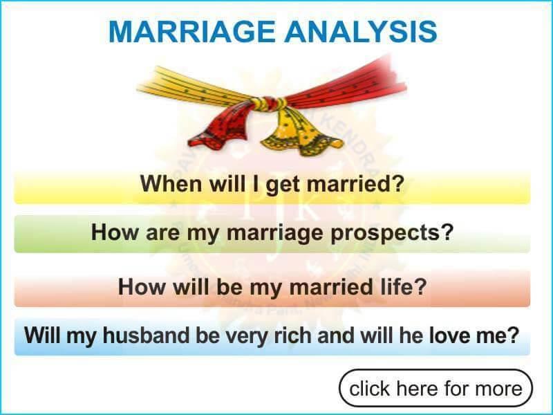 Marriage Analysis