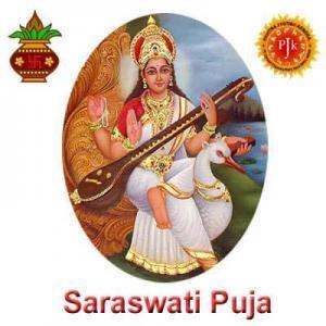 Saraswati Puja by Pavitra Jyotish Kendra