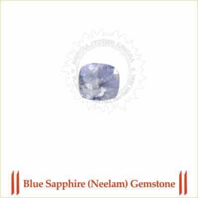 Certified Blue Sapphire (Neelam) Gemstone 1 By PavitraJyotish