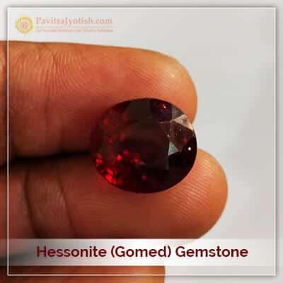 Lab Certified Gomed Hessonite Gemstone