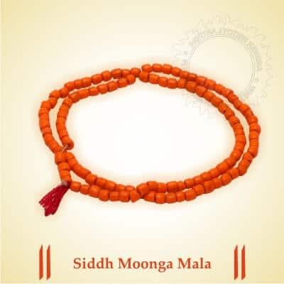 Siddh Moonga Mala