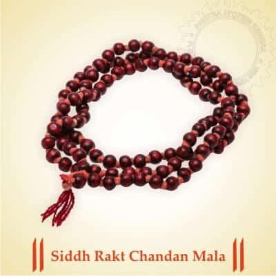 Siddh Rakt Chandan Mala