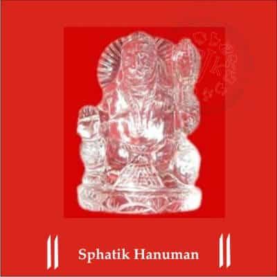 Sphatik Hanuman
