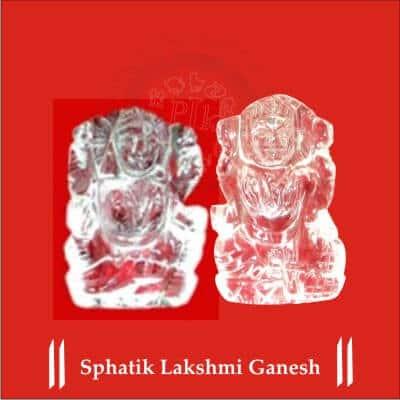 SPHATIK LAKSHMI GANESH BY PAVITRAJYOTISH