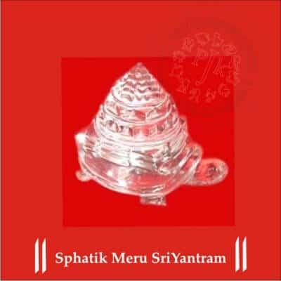SPHATIK MERU SRI YANTRA BY PAVITRAJYOTISH