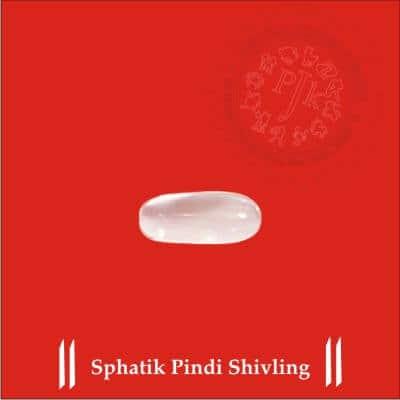SPHATIK PINDI SHIVLING BY PAVITRAJYOTISH