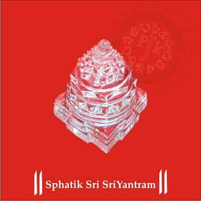 Sphatik Sri SriYantram