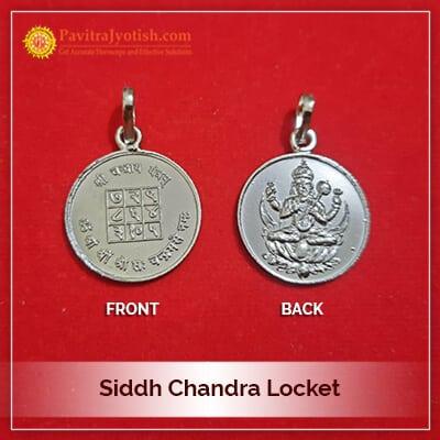 Siddh Chandra Locket