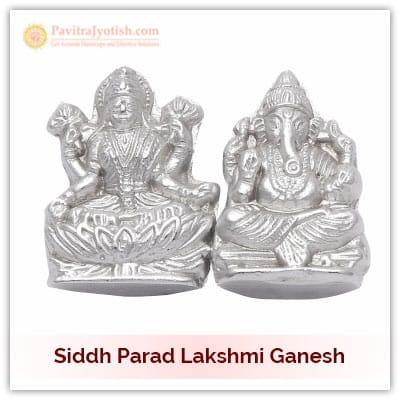 Siddh Parad Lakshmi Ganesh Idol