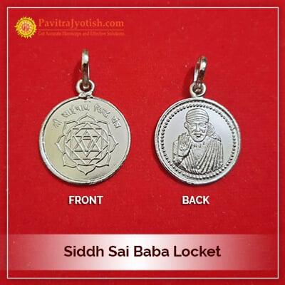 Siddh Sai Baba Locket