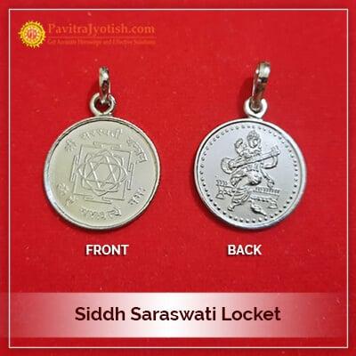 Siddh Saraswati Locket