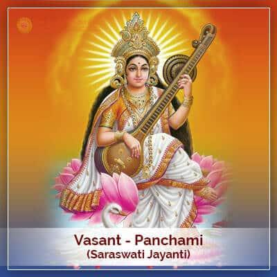 Vasant Panchami Saraswati Jayanti