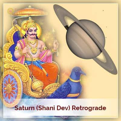 Saturn Shani Dev Retrograde