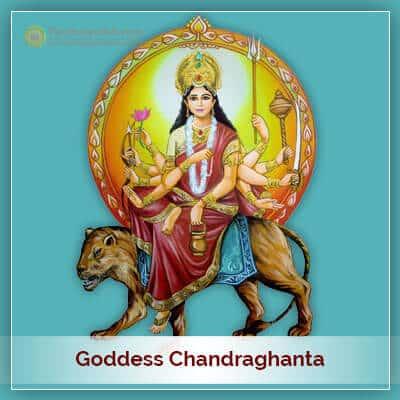 Goddess Chandraghanta