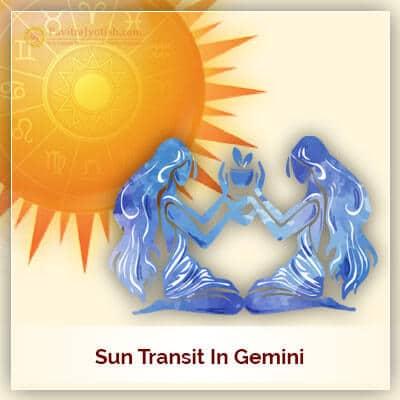 Sun Transit In Gemini