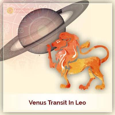 Venus (Shukra) Transit Leo (Simha Rashi) 15th September 2017