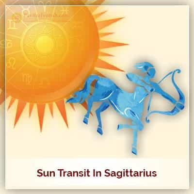 Sun Transit in Sagittarius (Dhanu Rashi) On 16th December 2017