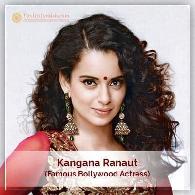 About Kangana Ranaut Horoscope