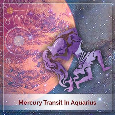 Mercury Transit in Aquarius (Kumbh Rashi) on 15th February 2018