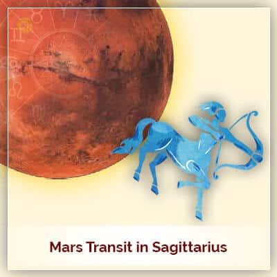 Mars Transit In Sagittarius Horoscope