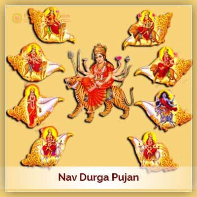 Navratri Festival Means Nav Durga Pujan From 17th October 2020 To 25th October 2020