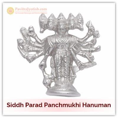 Siddh Parad Panchmukhi Hanuman Idol