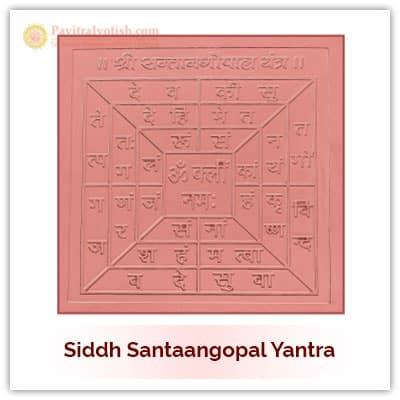Siddh Santaangopal Yantra