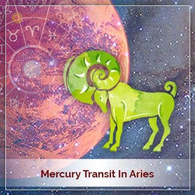 Mercury Transit in Aries (Mesh Rashi) on 9th May 2018