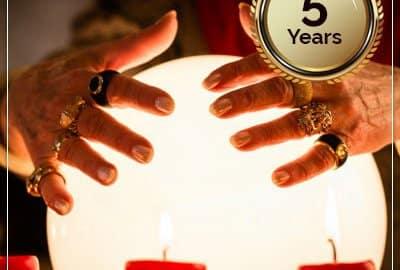 5 Year Horoscope Predictions