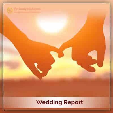 Wedding Horoscope Report