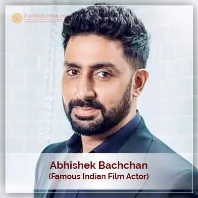 Abhishek Bachchan Horoscope Astrology