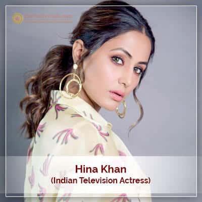 About Hina Khan Horoscope