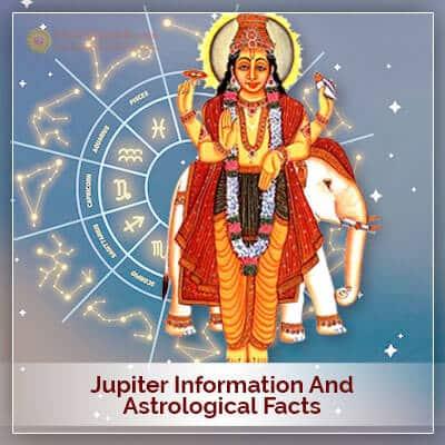 Jupiter Information and Astrological Facts