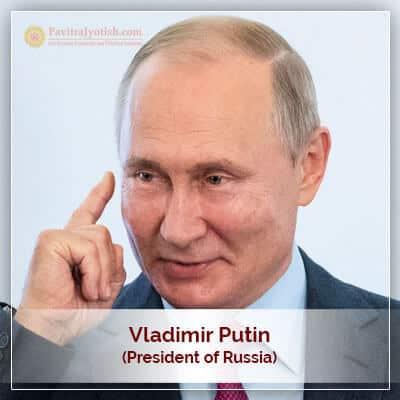 Vladimir Putin Horoscope Prediction