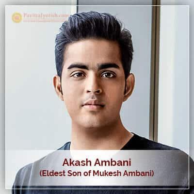 Akash Ambani Horoscope Astrology