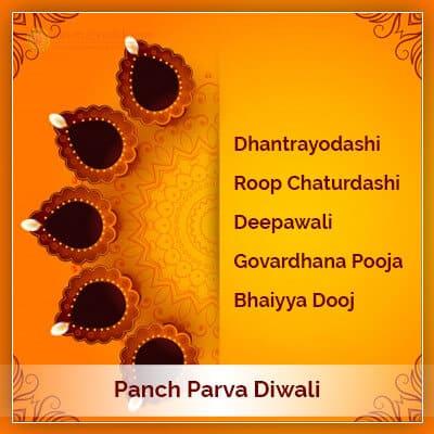 Panch Maha Parva Diwali Lakshmi Puja