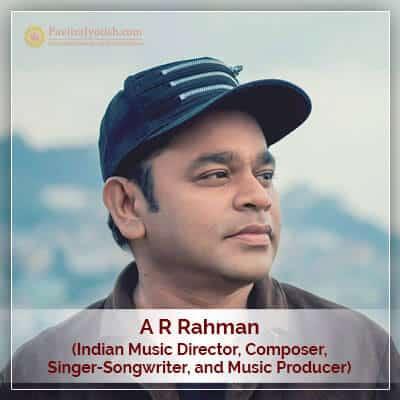 A R Rahman Horoscope Astrology
