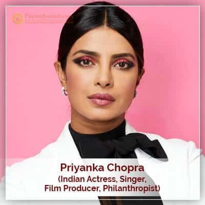 Priyanka Chopra Horoscope Chart