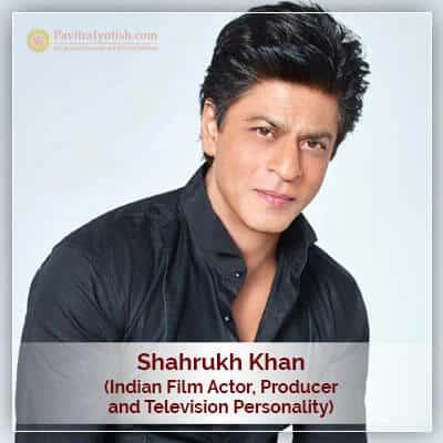 About Shahrukh Khan Horoscope