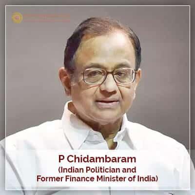 About P Chidambaram Horoscope