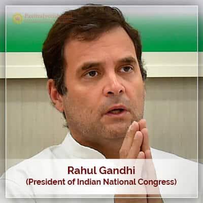 About Rahul Gandhi Horoscope
