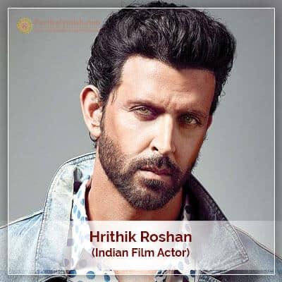 About Hrithik Roshan Horoscope
