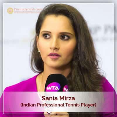 About Sania Mirza Horoscope