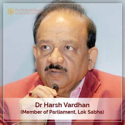 About Dr Harsh Vardhan Horoscope