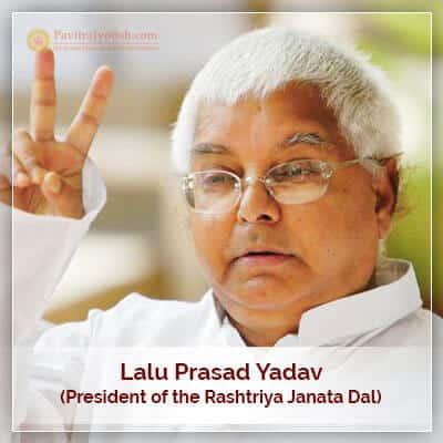 About Lalu Prasad Yadav Horoscope
