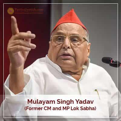 About Mulayam Singh Yadav Horoscope