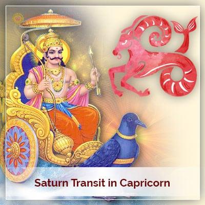 Saturn Transit Capricorn on 24th January 2020