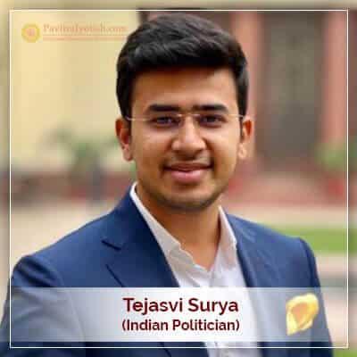 About Tejasvi Surya Horoscope